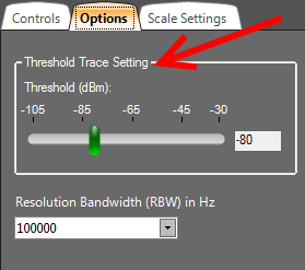 WiFi Surveyor -- Threshold Setting