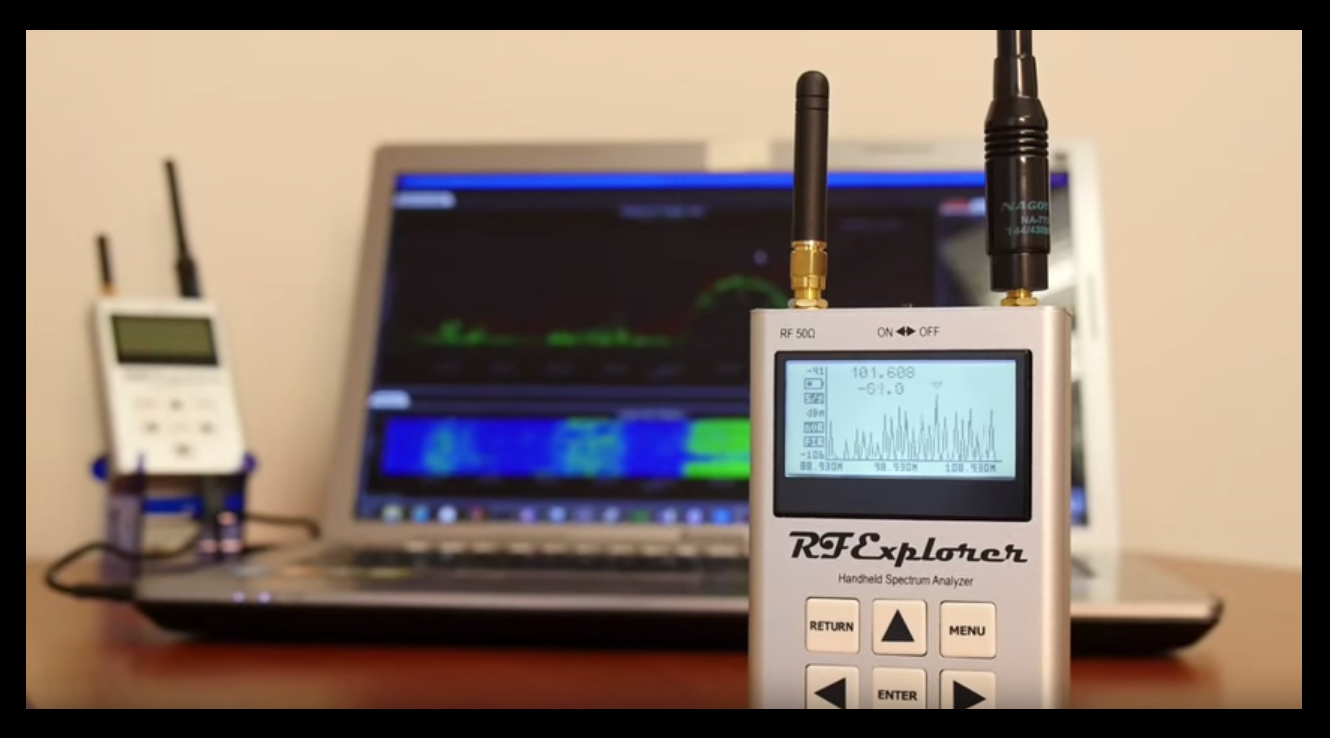 RF Explorer – Low-Cost, Handheld, RF Spectrum Analyzers