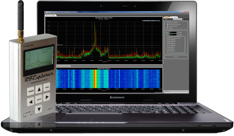 RF Explorer And WifiSurveyor Software