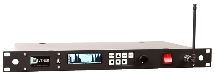 RF Explorer RackPRO -- Rack-Mounted RF Spectrum Analyzer