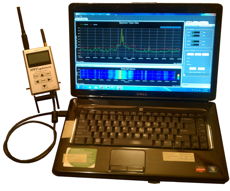 RF Explorer and Touchstone Software
