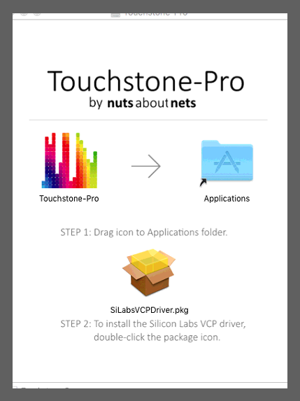 Disk Image for Touchstone for MacOS
