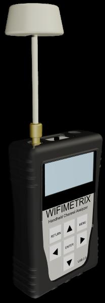 WifiMETRIX Channel Analyzer / Signal Generator
