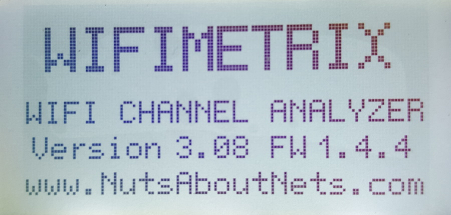 WifiMETRIX -- Channel Analyzer / Signal Generator